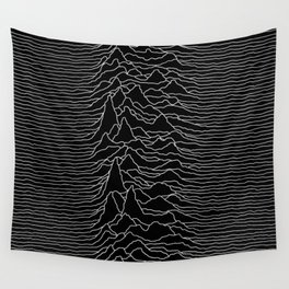 The Pulsar Waves Wall Tapestry