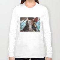 cassandra jean Long Sleeve T-shirts featuring Jean Lafeet by Christina Hess