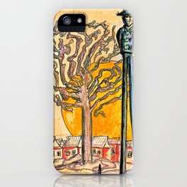 Sunset Hill iPhone Case