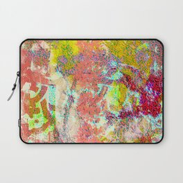 Living Coral abstract Laptop Sleeve
