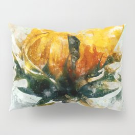 Born in Sunflower Pillow Sham