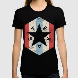 Retro 70s TEXAS Star Icon T-shirt