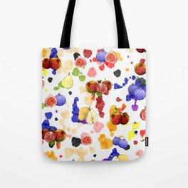 Watercolor Tutti Frutti Tote Bag