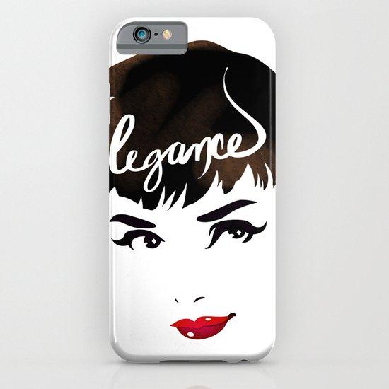 Bombshell Series: Elegance - Audrey Hepburn iPhone & iPod Case