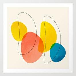Jellybean Acid Fingerprints Art Print
