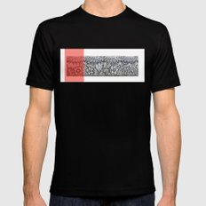 Four sides of a box (ii) Mens Fitted Tee MEDIUM Black