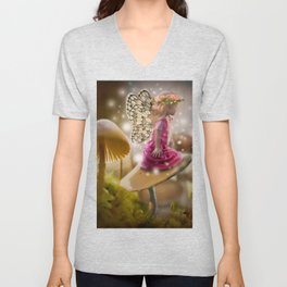 Fairy Dancer Unisex V-Neck