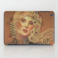 gustav klimt iPad Cases featuring klimt by Galvanise The Dog