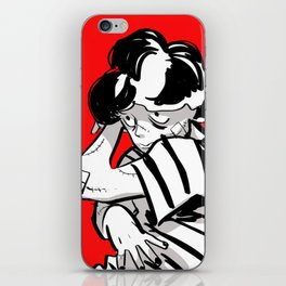 A Weakling Child iPhone Skin