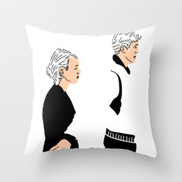 Strange Love: Lost in Translation Throw Pillow