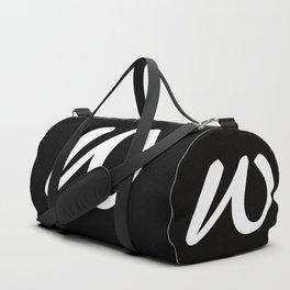 ALPHABET ....W Duffle Bag