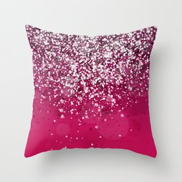 Silver IV Throw Pillow