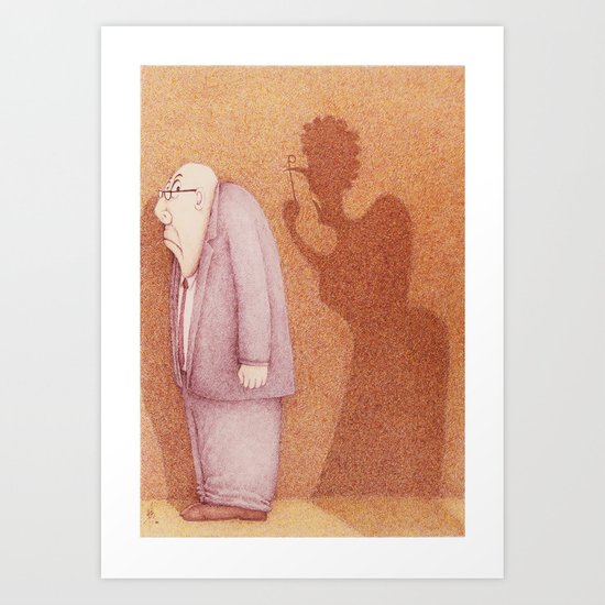 """Yes Darling"" Art Print"