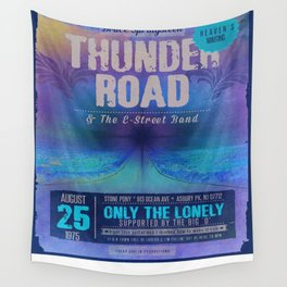 THUNDER ROAD CONCERT POSTER Wall Tapestry