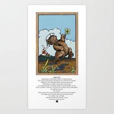 Lucky You! Art Print