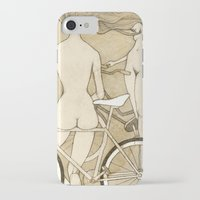 booty iPhone & iPod Cases featuring Bike Booty by Renee Staeck