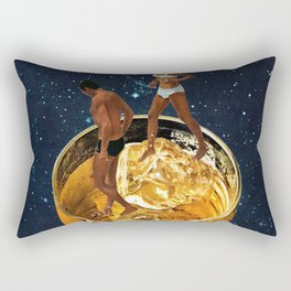 Space Date Rectangular Pillow