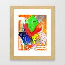 cold heart Framed Art Print