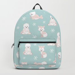 ARCTIC FRIENDS (green) Backpack