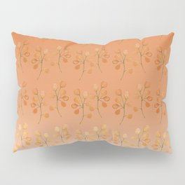 """Cactus flowers in soft orange"" Pillow Sham"