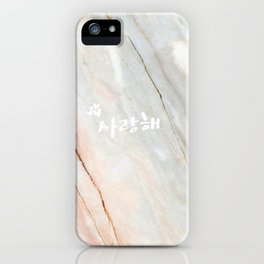 3 Hearts iPhone Case