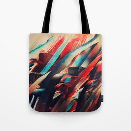 64 Watercolored Lines Tote Bag