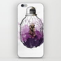 ysl iPhone & iPod Skins featuring YSL Parisienne by Linda Leitner
