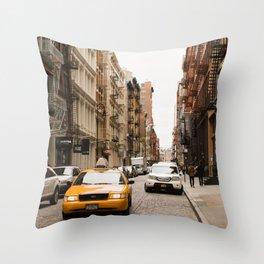 In Soho Throw Pillow