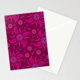 Floral Obscura Wine Stationery Cards