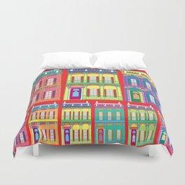 NEW ORLEANS HOUSES Duvet Cover