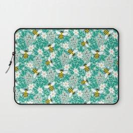 Blooms & Bees Laptop Sleeve