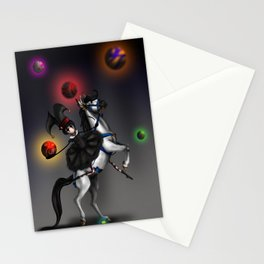 At The Carnivale Stationery Cards