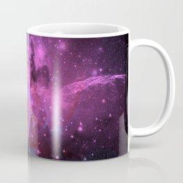 Pink N Blue Floral Space Explosion Coffee Mug