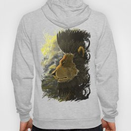 Eagle Feathered Lion Hoody