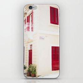 Houses of Valletta iPhone Skin
