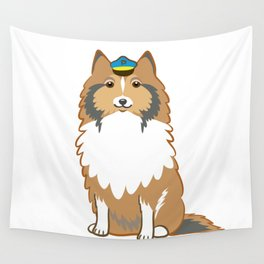 Animal Police - Collie Wall Tapestry