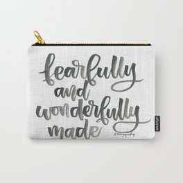 Fearfully and Wonderfully Made Carry-All Pouch