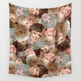 Golden Girls Toss Wall Tapestry