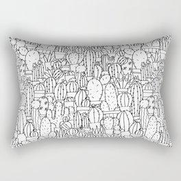 Cool as a Cactus Rectangular Pillow