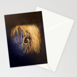 Golden Eye Stationery Cards