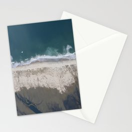 Aerial Beach Photograph: Masonboro Island | Wrightsville Beach NC Stationery Cards