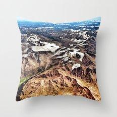 Alps Throw Pillow