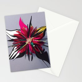 Shadow Floral- Decoupage Flower  Stationery Cards