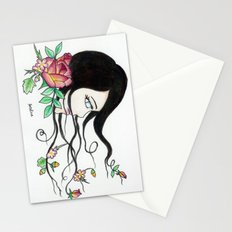 flowing beauty Stationery Cards
