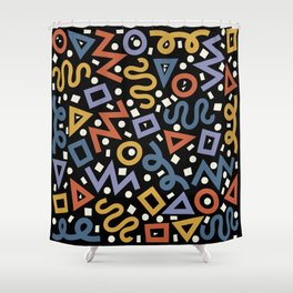 Colorful Party! Shower Curtain