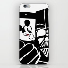 Take the mickey out of the dark iPhone Skin