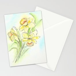 Yearning for Spring Stationery Cards