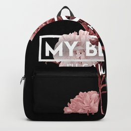 my blood Backpack