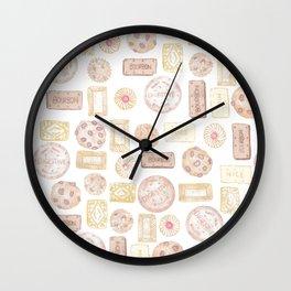 Biscuit barrel Wall Clock