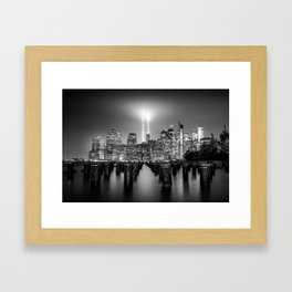 Spirit of New York Framed Art Print